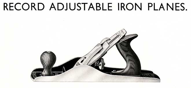 Adjustable Iron Planes