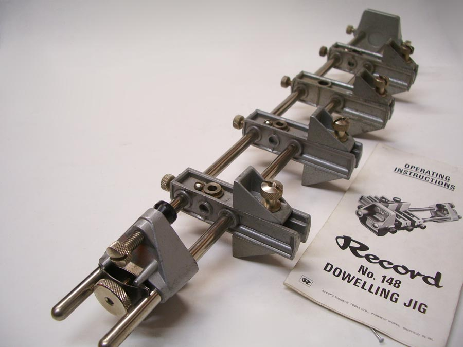 record 148 dowelling jig instructions